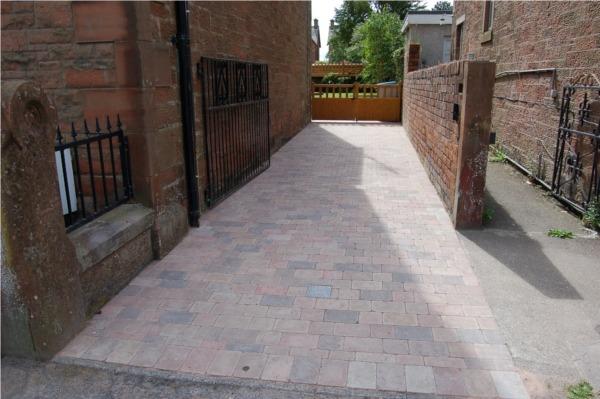 driveway laid in Annan