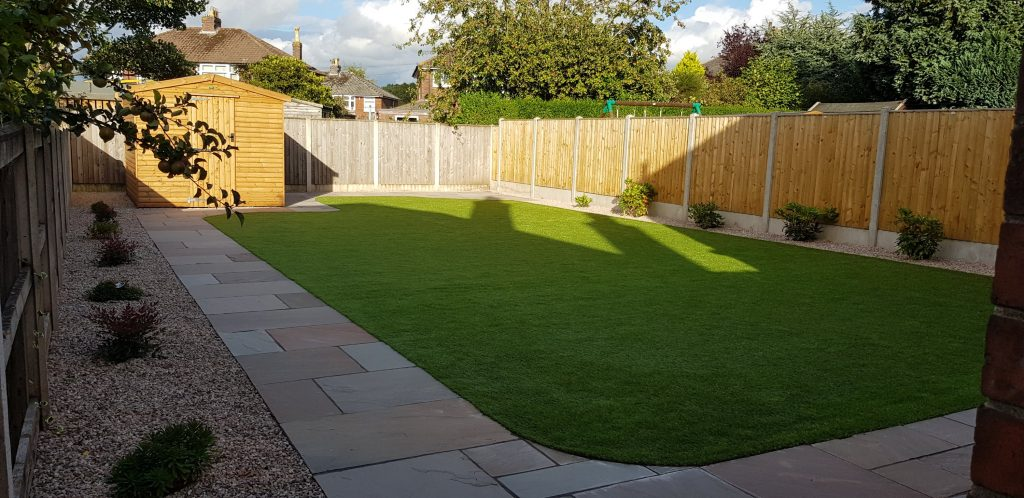 finished artificial lawn carlisle