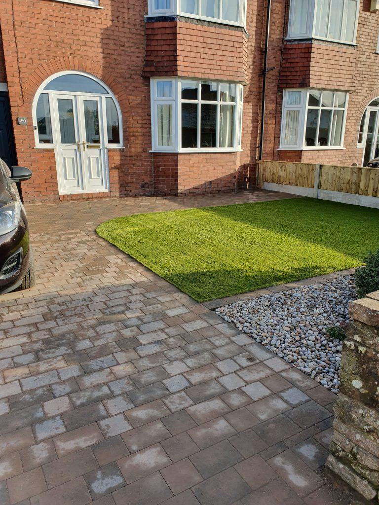 Block paving and artificial grass Carlisle