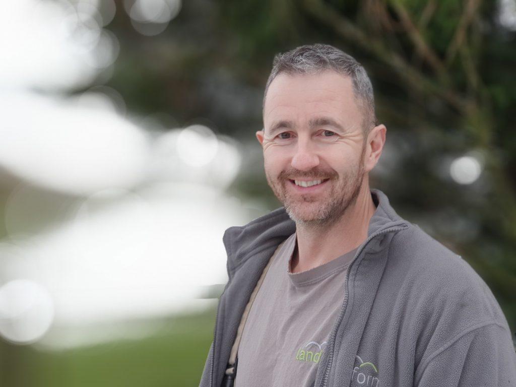photo of landform landscaping director